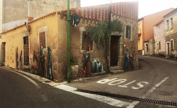 Murale din localitatea Cossoine – Sardinia – Foto Ionut Petru